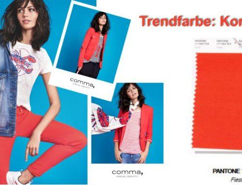 Trendfarbe: Korallenrot